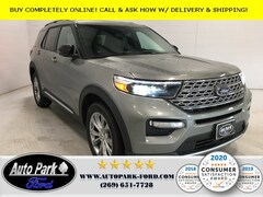 New 2020 Ford Explorer Limited SUV 1FMSK8FH1LGC03002 for sale in Bremen, IN