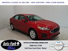 New 2020 Ford Fusion S Sedan for Sale in Sturgis, MI