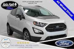 New 2019 Ford EcoSport SES Crossover MAJ6S3JL0KC276460 for sale in Bremen, IN