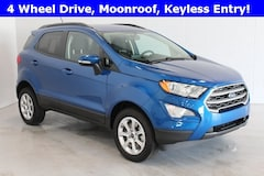 New 2019 Ford EcoSport SE Crossover MAJ6S3GL9KC295046 for sale in Bremen, IN