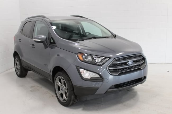 New 2018 Ford EcoSport SES Crossover Sturgis