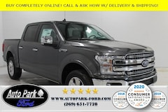 New 2020 Ford F-150 Lariat Truck 1FTEW1E51LFA48073 for sale in Bremen, IN