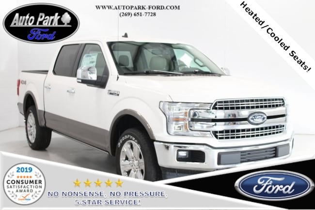 New 2019 Ford F-150 Lariat Truck for sale in Bremen, IN