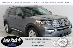 New 2020 Ford Explorer Limited SUV 1FMSK8FH1LGB81888 for sale in Bremen, IN
