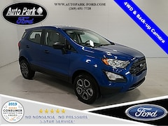 New 2020 Ford EcoSport S Crossover MAJ6S3FL7LC313921 for sale in Bremen, IN