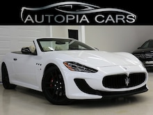 2013 Maserati GranTurismo MC SPORT NAVI CARBON FIBER BOSE AUDIO Convertible