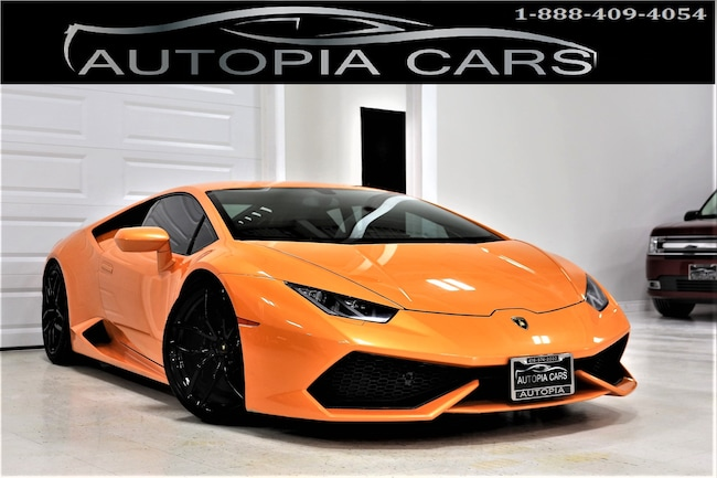 2015 Lamborghini Huracan 610 LP 631 HP AWD Coupe