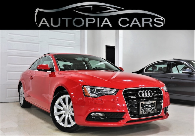 2014 Audi A5 Komfort AWD PANORAMIC SUNROOF ALLOY Coupe