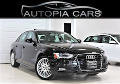 2015 Audi A4 S LINE PKG NAVI BACKUP AWD SUNROOF ALLOY CERTIFIED Sedan