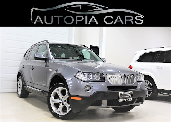 2010 BMW X3 30i PANORAMIC SUNROOF LEATHER ALLOY NO ACCIDENT  SUV