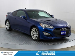2016 Hyundai Genesis Coupe Premium, Sunroof, Back Up Cam, Leather! Coupe