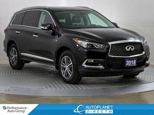 2018 INFINITI QX60 AWD, 7 Passenger, Sunroof, Back Up Cam!