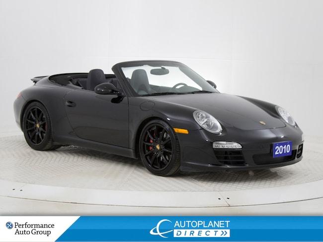 2010 Porsche 911 Carrera S, Soft Cloth Convertible, Navi! Convertible