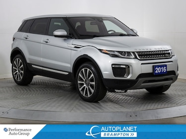 2016 Land Rover Range Rover Evoque HSE 4x4, Navi, Pano Roof, Back Up Cam! SUV