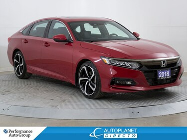 2018 Honda Accord Sport, Back Up Cam, Sunroof, Honda Link! Sedan