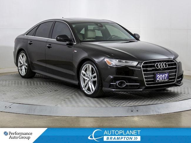 2017 Audi A6 Quattro, Technik, S Line, Heads Up Display, Navi! Sedan