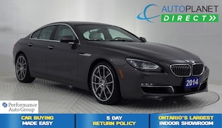 2014 BMW 650i xDrive, Navi, Back Up Cam, Sunroof, Bluetooth! Sedan