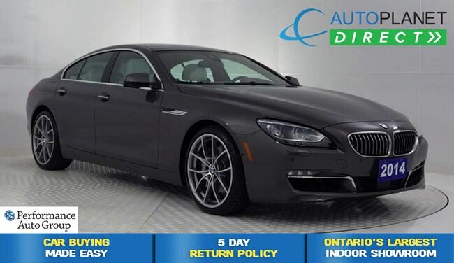 2014 BMW 650i xDrive, Navi, Back Up Cam, Sunroof, Bluetooth! Sedan