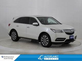 2016 Acura MDX AWD, Tech Pkg, Navi, Sunroof, Back Up Cam! SUV