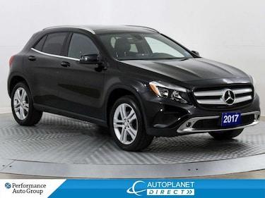 2017 Mercedes-Benz GLA-Class GLA250 4MATIC, Premium, Navi, Apple CarPlay! SUV