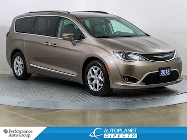 2018 Chrysler Pacifica Touring-L Plus, U-Connect Theatre + Tire&Wheel Grp Van Passenger Van