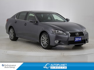 2014 LEXUS GS 350 AWD, Navi, Sunroof, Heads Up Display! Sedan