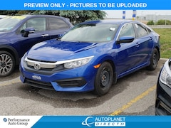 2017 Honda Civic LX, Back Up Cam, Heated Seats, Bluetooth! Sedan