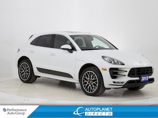 2015 Porsche Macan Turbo AWD, Navi, Sunroof, Back Up Cam! SUV
