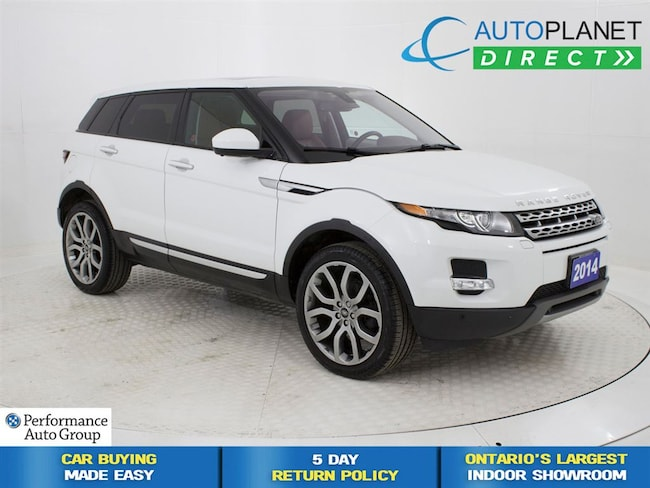 2014 Land Rover Range Rover Evoque Prestige 4x4, Navi, Pano Roof, Back Up Cam! SUV