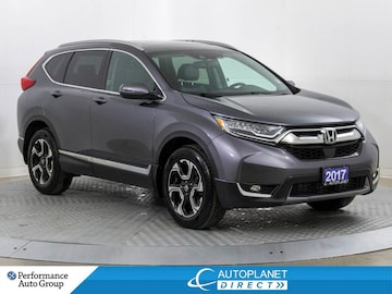 2017 Honda CR-V AWD, Touring, Navi, Pano Roof, Back Up Cam! SUV