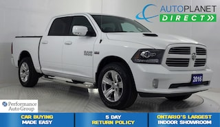 2016 Ram 1500 Sport 4x4, Back Up Cam, Bluetooth, One Owner! Truck Crew Cab