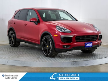 2016 Porsche Cayenne S AWD, Navi, Back Up Cam, New Tires/Brakes! SUV