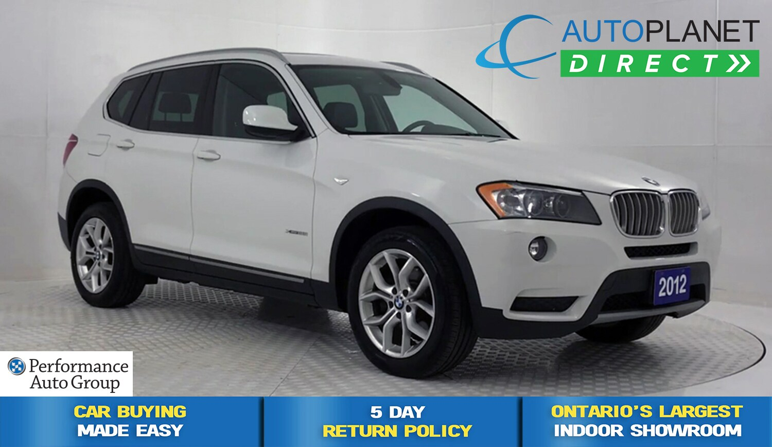 2012 BMW X3 xDrive 28i, Back Up Cam, Pano Roof! SUV