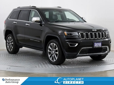 2018 Jeep Grand Cherokee Limited 4x4, Luxury Group II, Navi, Remote Start! SUV