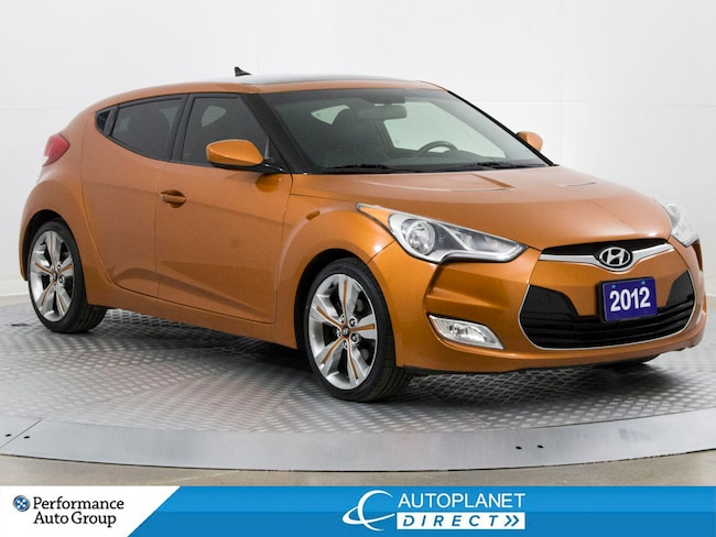 2012 Hyundai Veloster Tech, Back Up Cam, Pano Roof, Bluetooth! Hatchback
