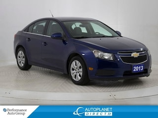 2013 Chevrolet Cruze LT Turbo, OnStar, New All Season Tires! Sedan