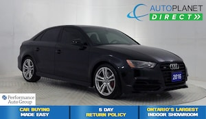 2016 Audi S3 2.0T Quattro, Technik, Navi, Back Up Cam, Sunroof!