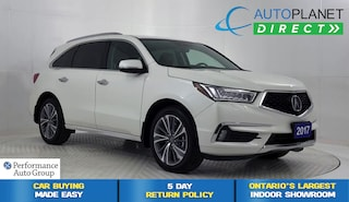 2017 Acura MDX AWD, Elite Pkg, Navi, DVD System, 7 Passenger! SUV