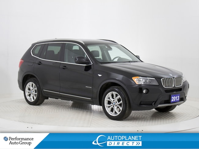 2013 BMW X3 xDrive 28i, Navi, Pano Sunroof, Bluetooth! SUV