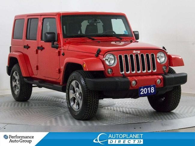 2018 Jeep Wrangler Unlimited Sahara 4x4, Navi, Remote Start! SUV