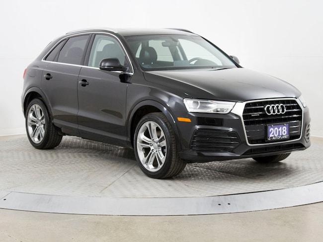 2018 Audi Q3 Quattro, Progressiv, Back Up Cam, $105/Week! SUV