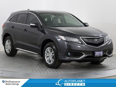 2016 Acura RDX AWD, Elite Pkg, Navi, Back Up Cam, Heated Seats! SUV