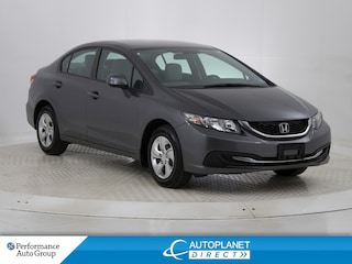 2013 Honda Civic LX, Heated Seats, Bluetooth, Ontario Vehicle! Sedan