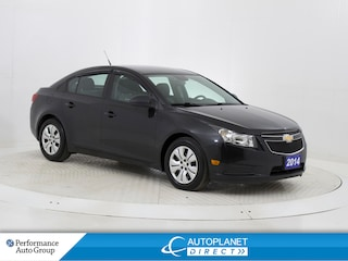 2014 Chevrolet Cruze 2LS, Keyless, One Owner, Ontario Vehicle! Sedan