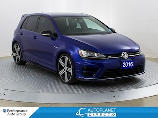 2016 Volkswagen Golf R AWD, Navi, Back Up Cam, Heated Seats! Hatchback