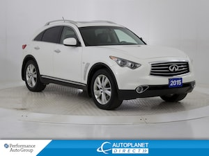 2015 INFINITI QX70 Premium AWD, Navi, Back Up Cam, Sunroof!
