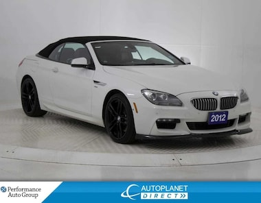 2012 BMW 650 i xDrive Convertible, Navi, Front and Back Up Cam! Cabriolet