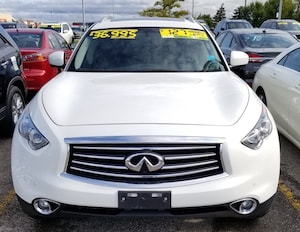2016 INFINITI QX70 AWD, Navi, 360 Cam, Heated/Cooled Seats!