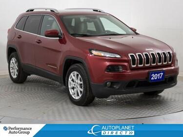 2017 Jeep Cherokee North 4x4, U-Connect, Remote Start, Alloys! SUV
