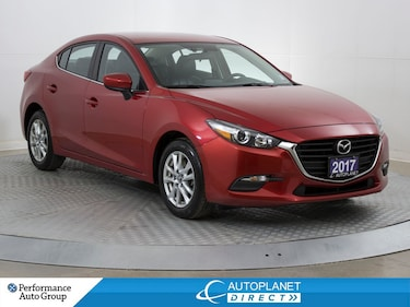 2017 Mazda Mazda3 SE, Leather, Back Up Cam, Heated Seats! Sedan